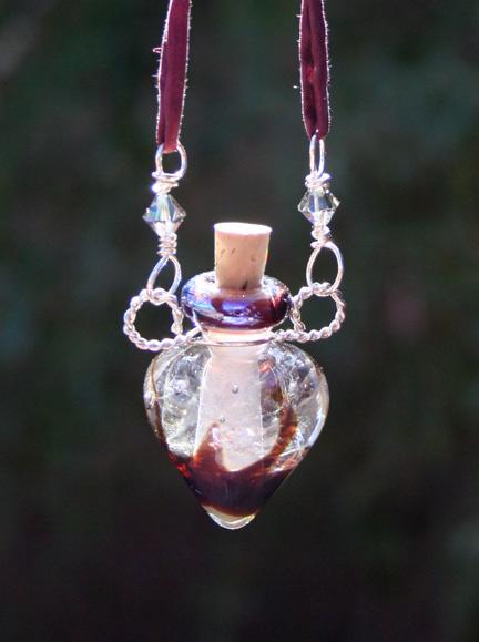 Aromatherapy Jewelry Luminescent Napa Aromatherapy Necklace
