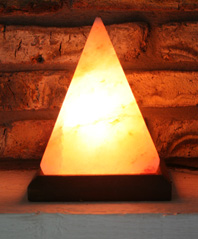 Egyptian (pyramid) Salt Lamp