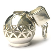 Sterling silver Aroma Bottle Aromatherapy Jewelry