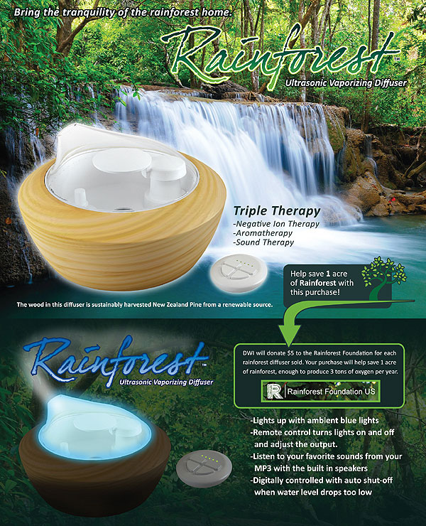 Rainforest Vaporizing Electric Diffuser