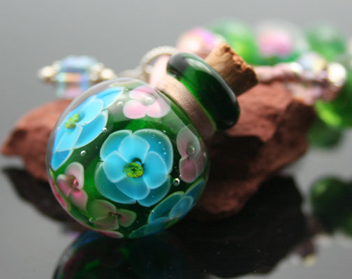 one-of-a-kind aromatherapy jewelry