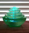 Green Glass Aromatherapy Fountain